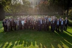 Foto di gruppo dei delegati di tutto il mondo di AIPH