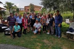 Visita dei delegati AIPH al socio Buongiovanni Vivai Piante