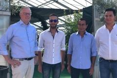 Visita dei delegati AIPH al socio Vivai Cinelli di Pescia